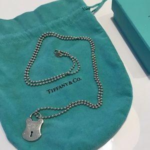 Tiffany Beaded Chain with lock charm
